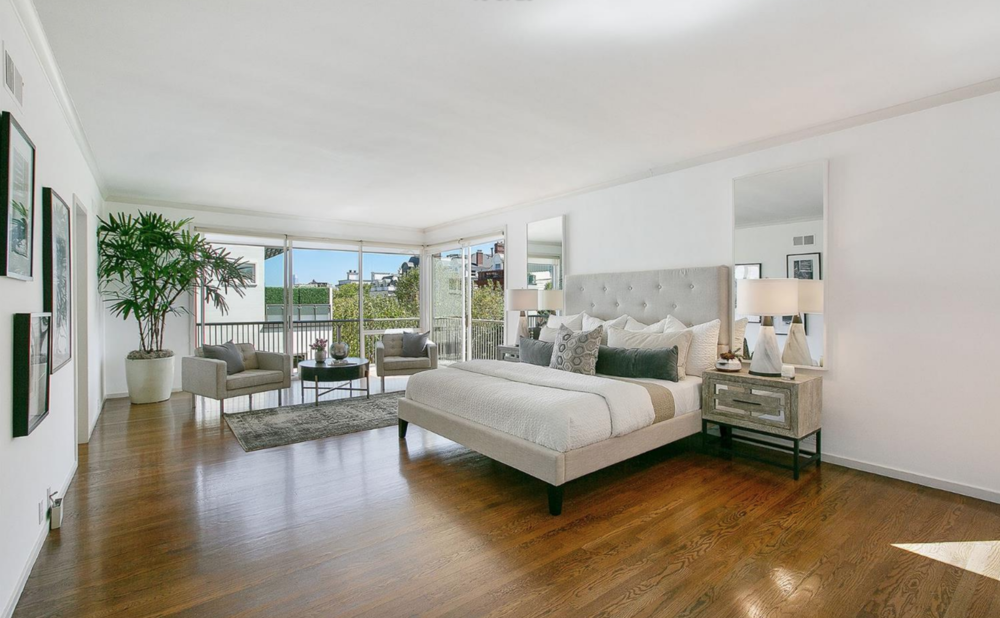1 Raycliff Terrace - Master Bedroom