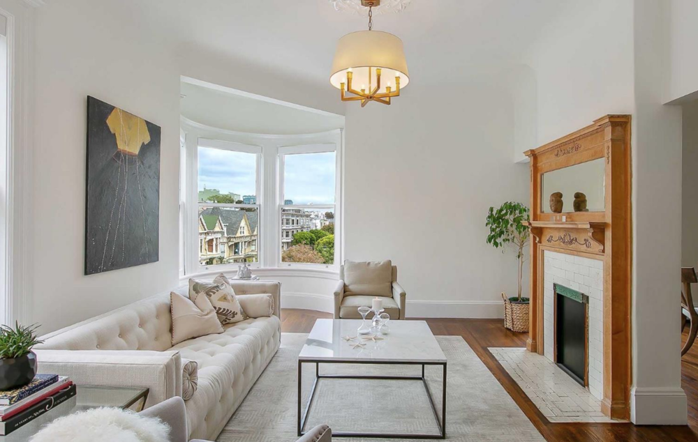 661 Waller Street - Living Room