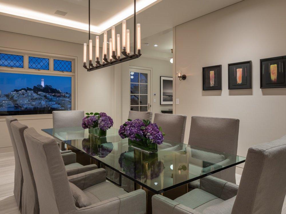 950 Lombard Street - Dining Room