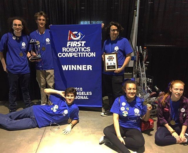 When I say 25 you say 84! Patriot Robotics and Reseda Regent Robotics take the FRC state competition in the winning alliance and will be going to worlds!