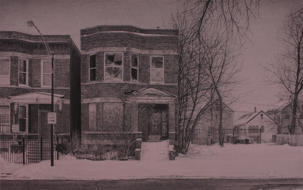 What was Once a Home (South Laflin Street)