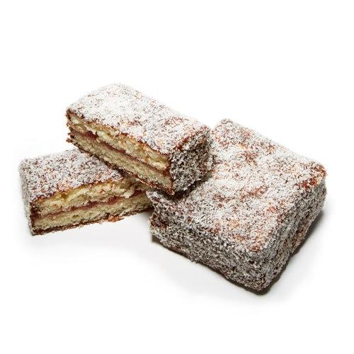 Gluten free lamingtons