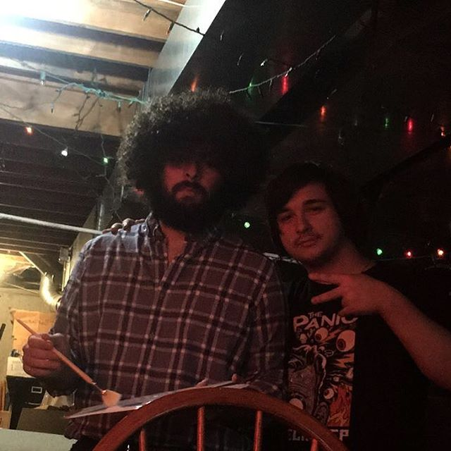 Happy Halloween from @legendofdanny16 as Bob Ross and 3tac #halloween #bobross #happyaccidents  #music #show #band #poppunk #punk #punkrock #newjersey #family #friends #phillymusic #philly #southjersey #localmusic #supportlocalmusic #localband #3tac