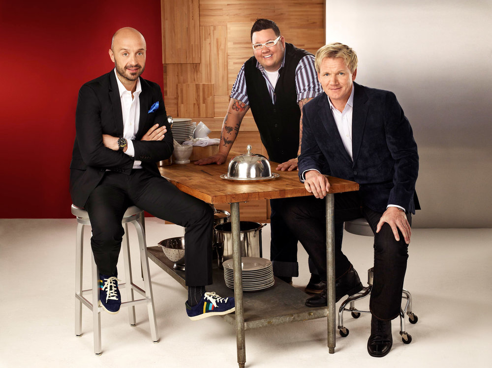 Joe Bastianich, Graham Elliot & Gordon Ramsay