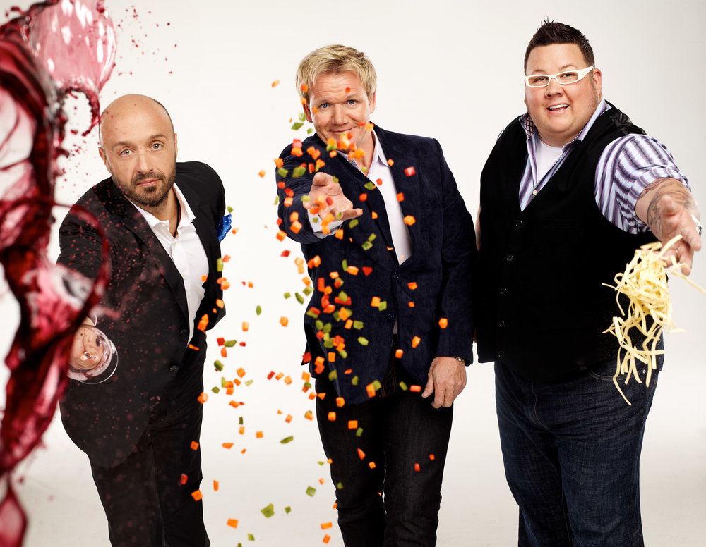 Joe Bastianich, Gordon Ramsay & Graham Elliot