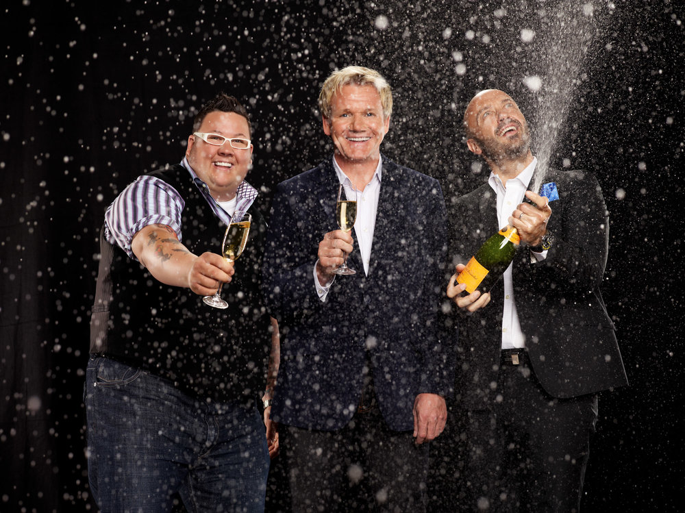 Graham Elliot, Gordon Ramsay & Joe Bastianich