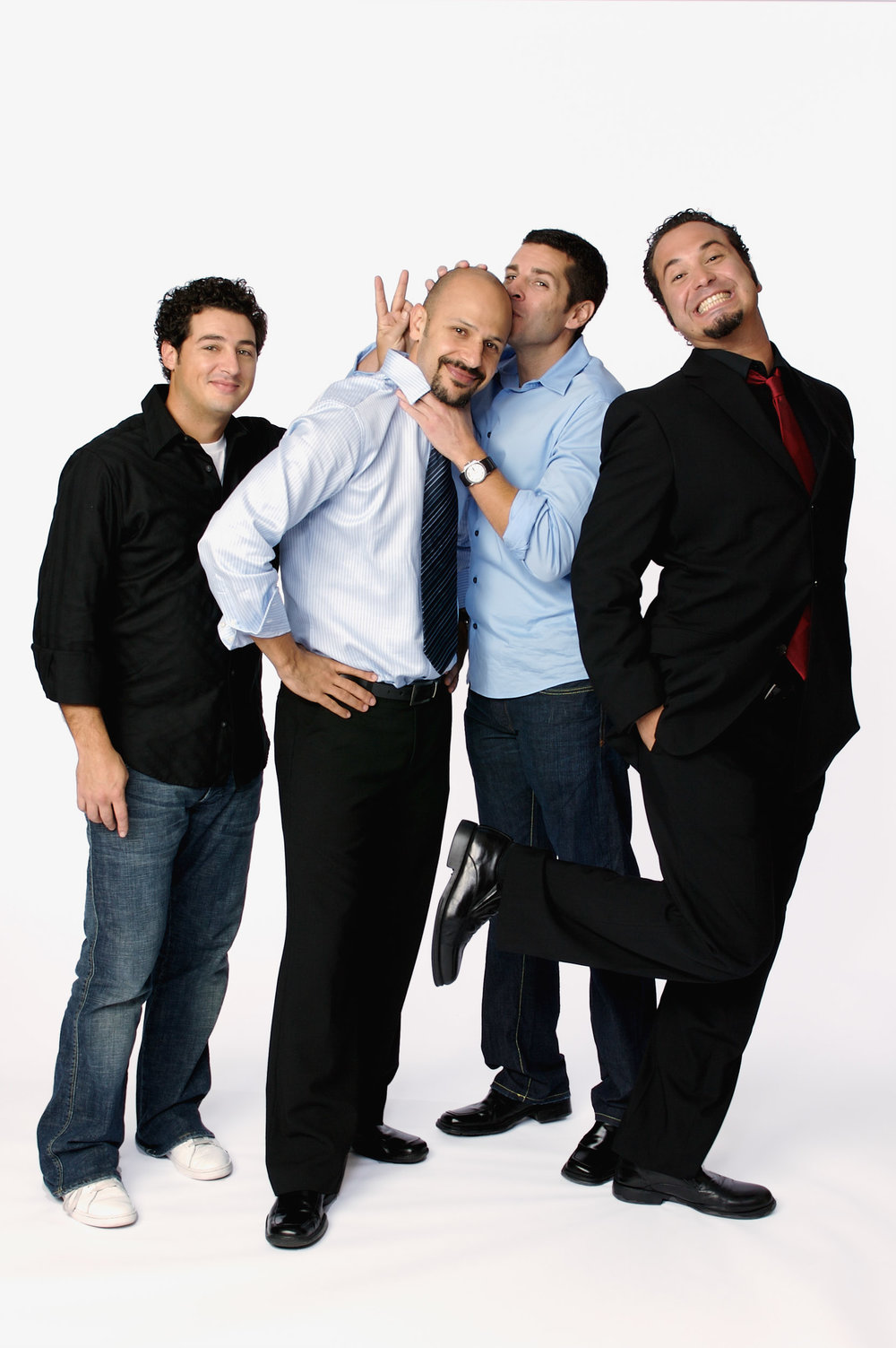 Aron Kader, Maz Jobrani, Dean Obeidallah & Ahmed Ahmed