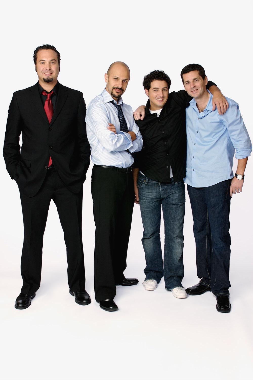 Ahmed Ahmed, Maz Jobrani, Aron Kader & Dean Obeidallah