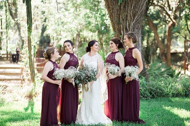 The bride and her girls... Truly a special moment❤️ . . . #Tampaweddingphotographer #floridaweddingphotographer #floridaweddingvenue #wedding #weddingparty #celebrationoflove #bride #groom #wedo #instawed #romance #marriage #together #weddingdress #classicbeauty #happy #groomsmen #bridesmaids #orlandoweddingphotographer #sarasotaweddingphotographer #barn #elegantwedding #southernwedding #gardenwedding #marthastewartweddings #tampabride #southernelegance #davidsbridal #europe