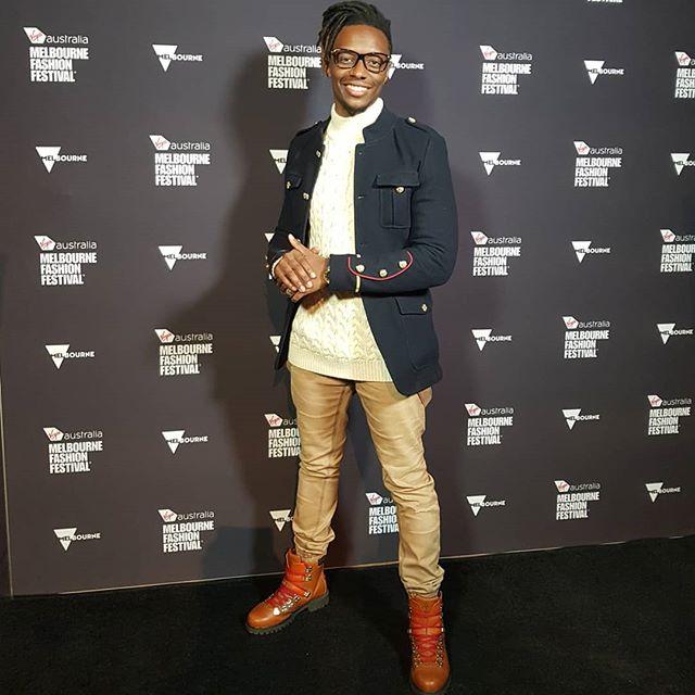 #vamff Working on my net worth within a dope network in a timely #fashion ⌚➕👔😉. Virgin Australia Melbourne Fashion Festival was a vibe #fashionkillaalumni #fashionmister #simbamaktoldme • •💼📆@thisisdiscoverymanagement •📷@ash.sibanda