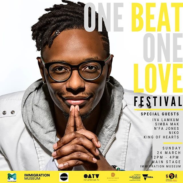 #OBOLfestival I can't wait to party with you guys on Sunday at the @immigrationmuseum_melb for the @onebeatonelove #Festival. Trust me, it's going to be a MAD fun #vibe for the whole family with exceptional entertainment from some of Melbourne's finest. Slide through fam😁🙏🏾 • •💼📆Discovery Management