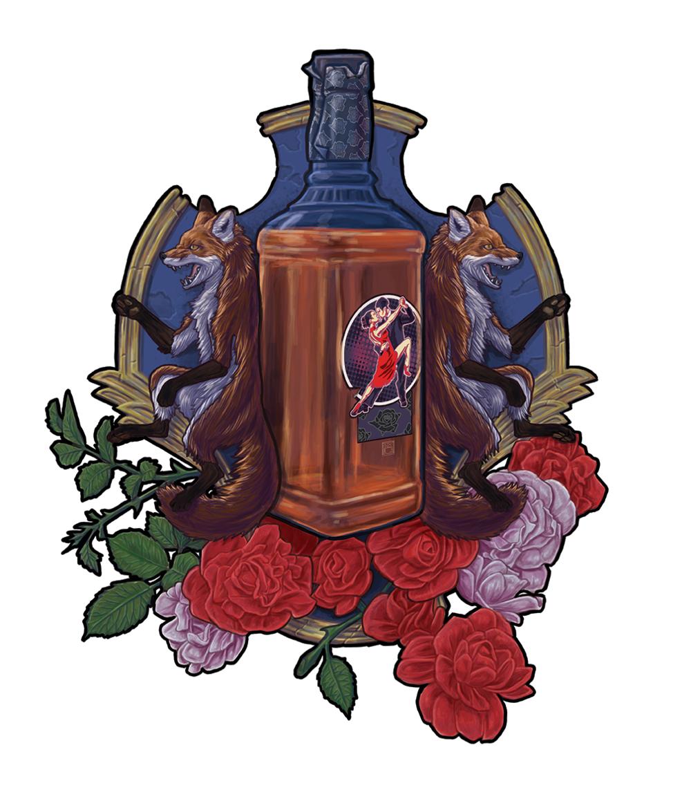 """New illustration finished! """"Whiskey Tango Foxtrot""""digital paint in Adobe Photoshop ©2017 Peter Mathwyuk"""
