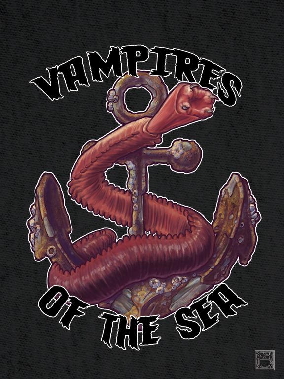 Final of my Bloodworm shirt design.