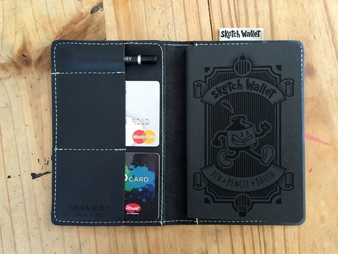 Just funded Sketch Wallet on Kickstarter! https://www.kickstarter.com/projects/1945044028/sketch-wallet Are you an artist? Do you need a new wallet? Always wanted to find a way to have a sketchbook on you but didn't want to carry around a bag full of art supplies? Then this kickstarter was made for you. They just hit their $20,000 goal, with only $10,000 and 26 days to go, help them make this product a reality.