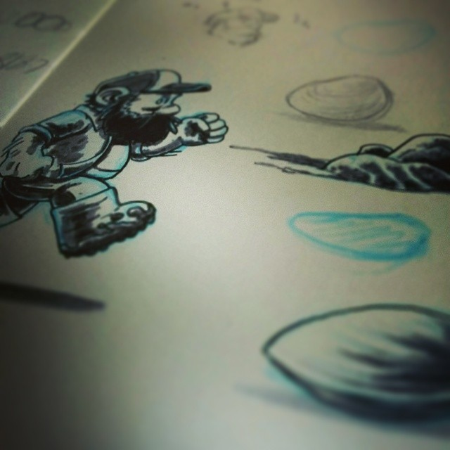 Working on some game sketches