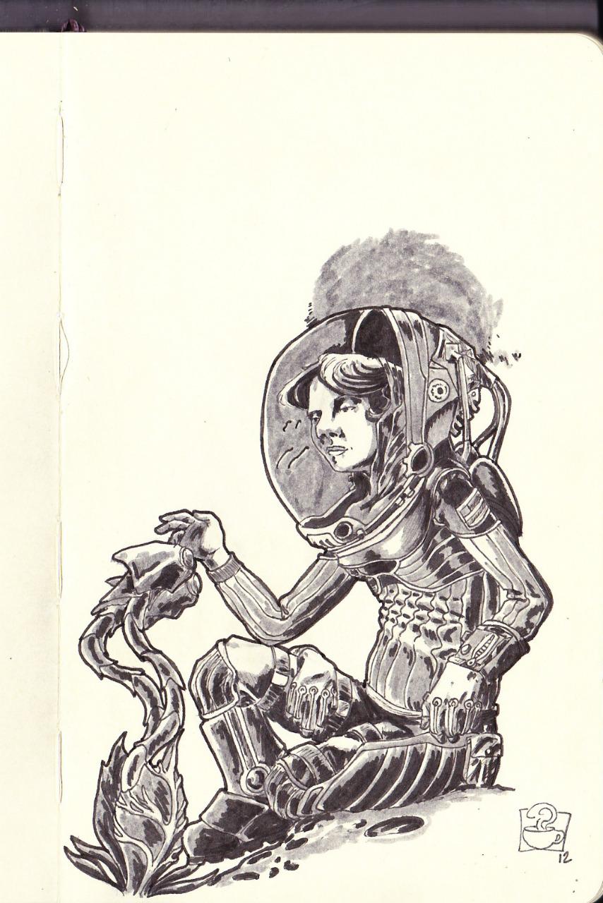 Sketch-dump part 2: close encounters