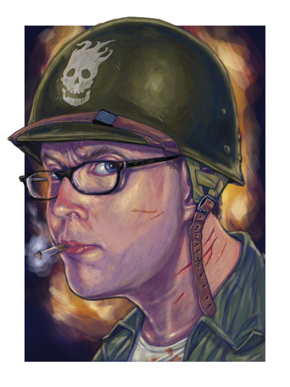 Final image for my recent character portrait commission. Digital paint in Adobe Photoshop ©2013 Sean Closson