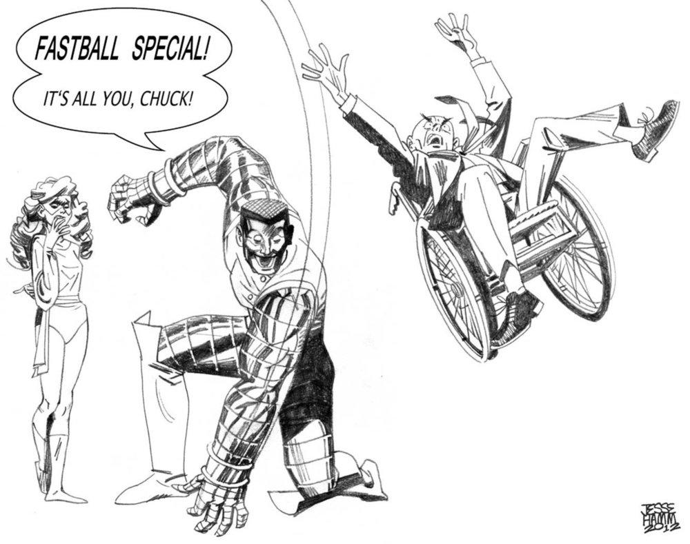 Fastball special! hammpix: Daily X-Men Sketch: Colossus! Anna's version here. Next: Bishop.