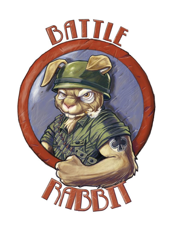 One of the designs I have been working on for Battle Rabbit, a model ship and model tank company.
