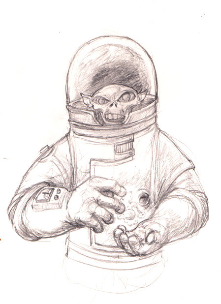 Space Goblin! What are these things I come up with while at the bar?