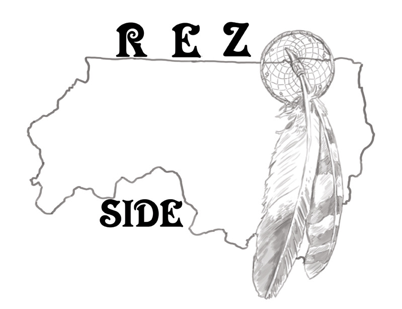 Yet another version of the Rez Side Logo Design rough.