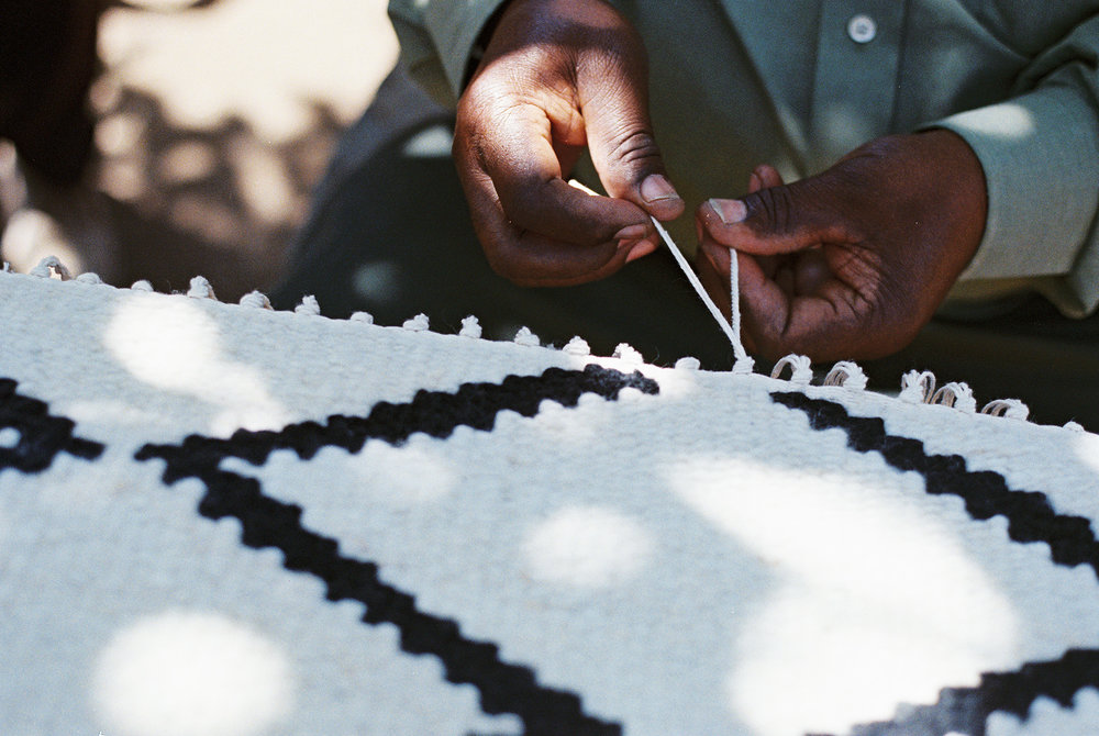 Beautiful sustainable wool rugs handmade by women in Kenya available from Kahoko - an ethical company // Retreat - food and lifestyle blog