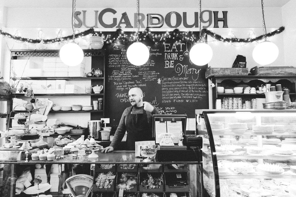 Sugardough is a traditional bakery on Hove seafront just outside of Brighton photographed by Emma Gutteridge // Retreat - a food and liufestyle blog