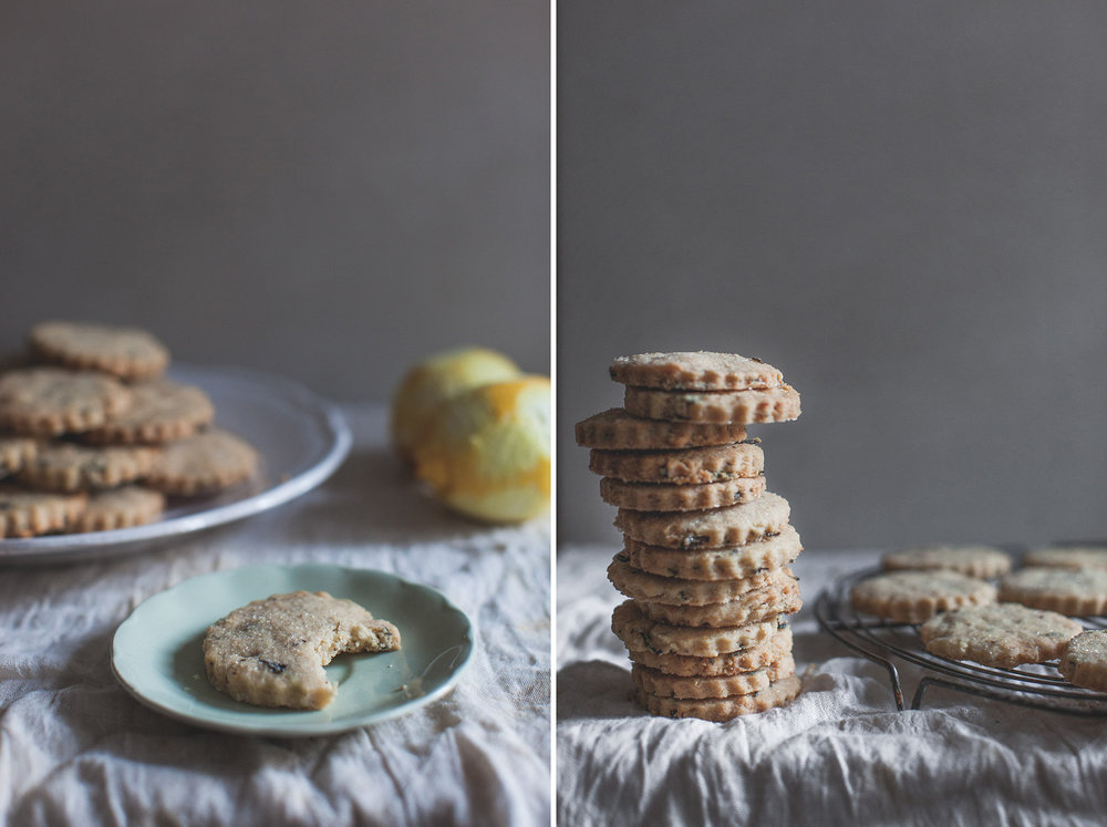 Easy lemon and earl grey shortbread recipe. Retreat // Food and lifestyle blog based in Sussex. Photography by Emma Gutteridge.