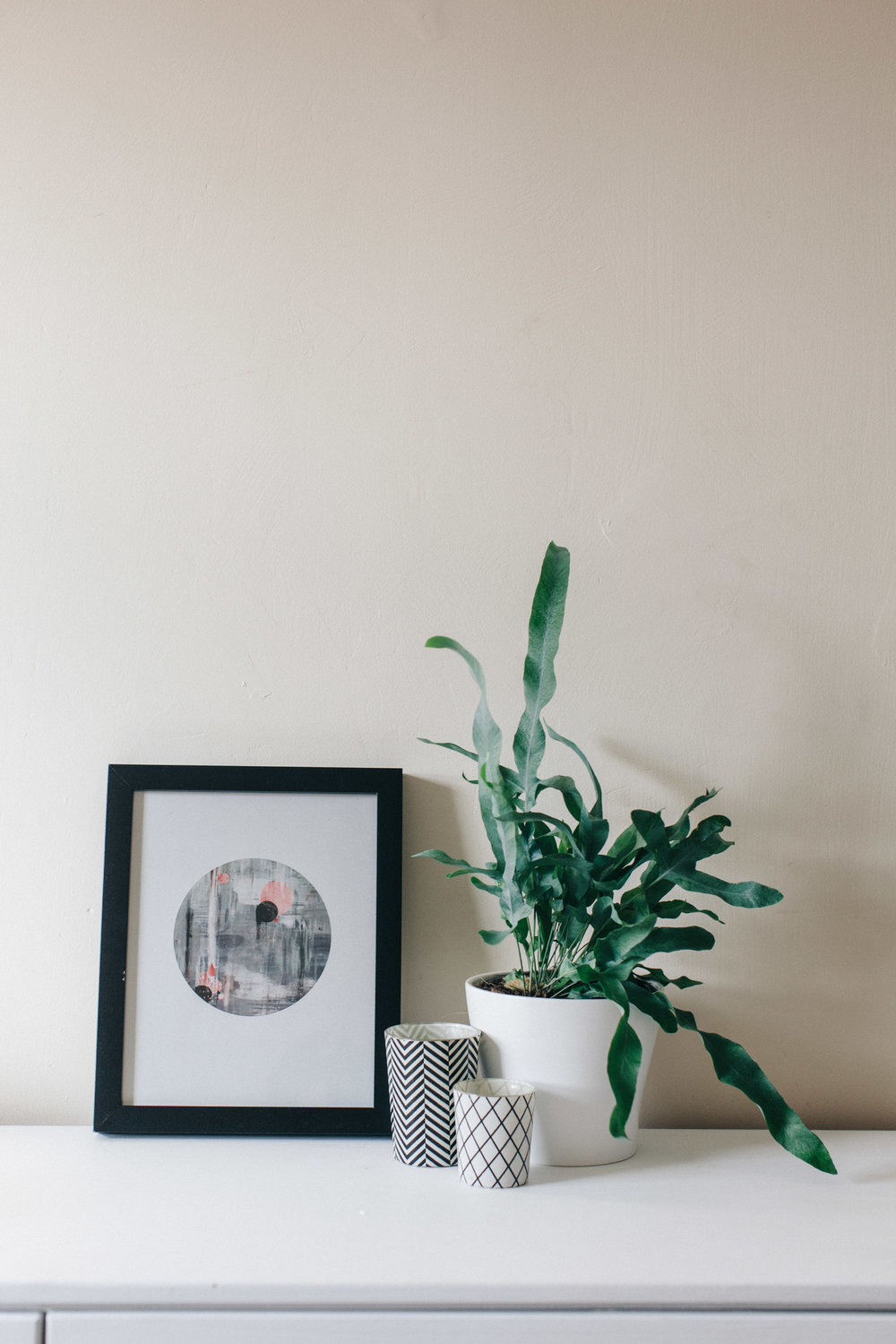 Lynne Rosenvinge Scandinavian wall art. Retreat // Food and lifestyle blog based in Sussex. Photography by Emma Gutteridge.