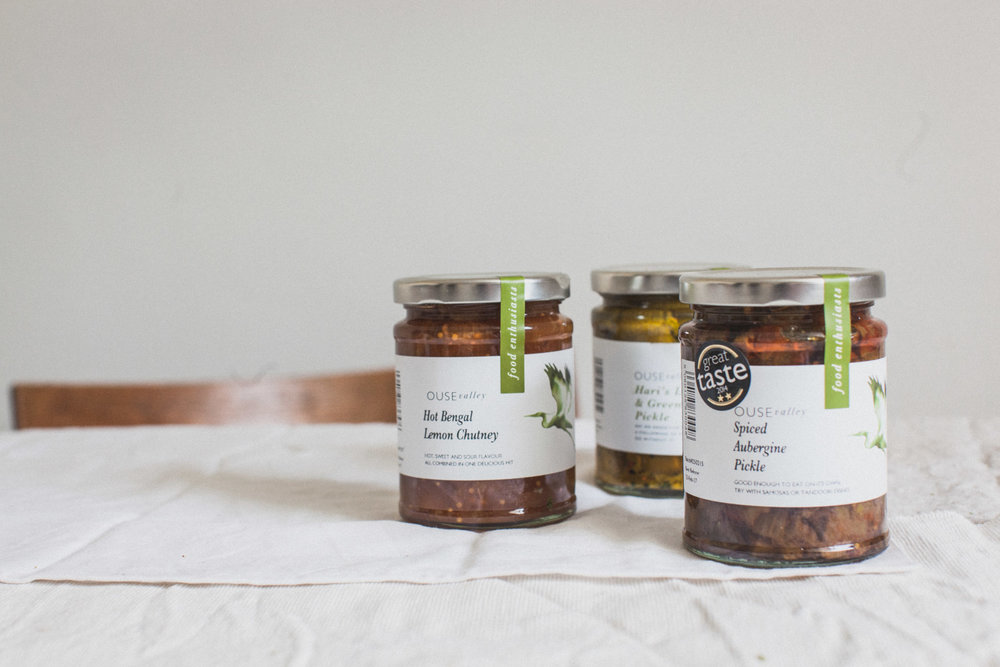 Ouse Valley Foods - a Sussex maker of chutneys, jams and jellies using local ingredients. Retreat // Food and lifestyle blog based in Sussex. Photography by Emma Gutteridge.