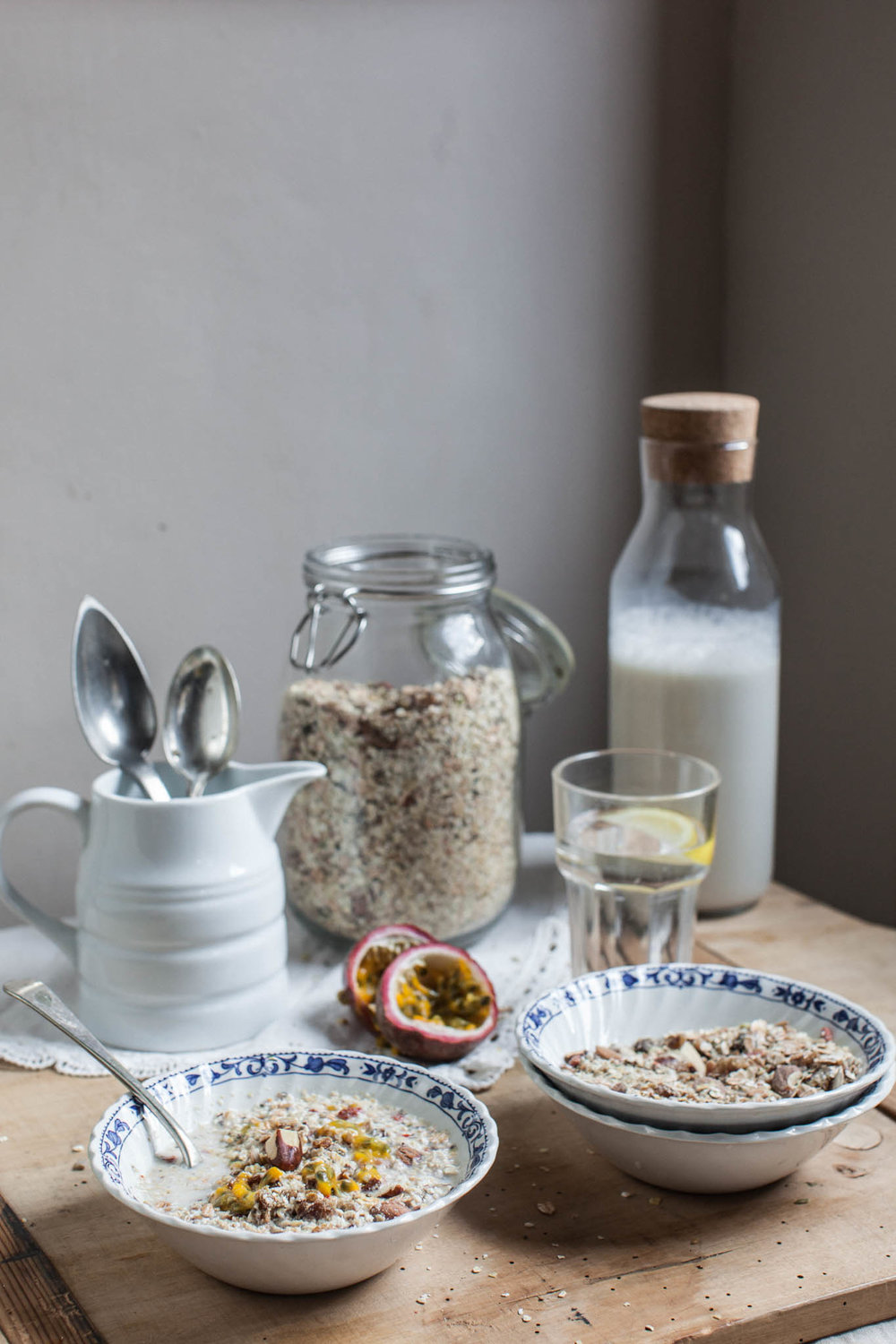 Home made gluten free super muesli recipe. Photography by Sussex photographer Emma Gutteridge