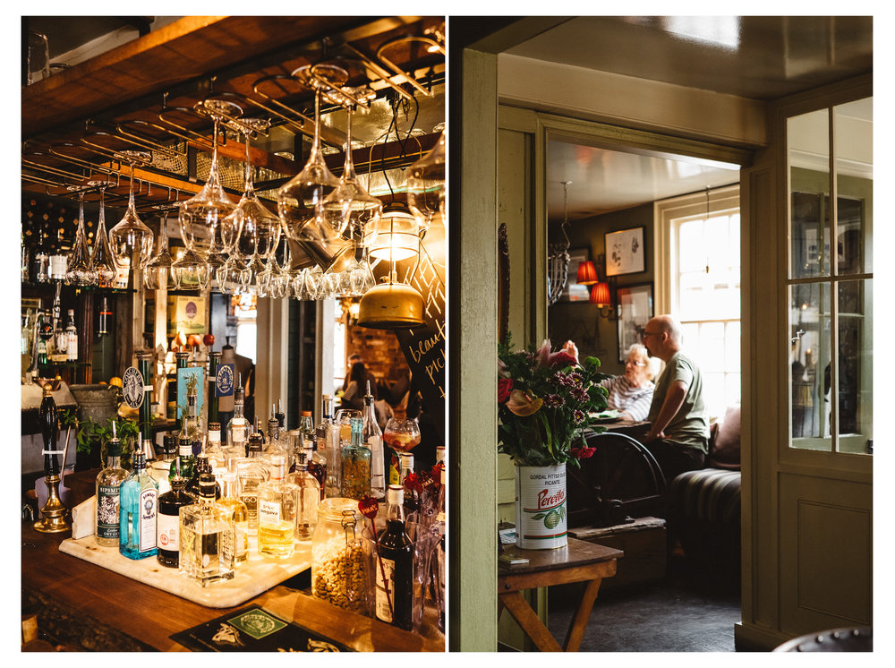 The Globe Inn Marsh is a delightful pub in Rye, Sussex serving local fish from Dungeness, Kent. Retreat is a food, travel and lifestyle blog