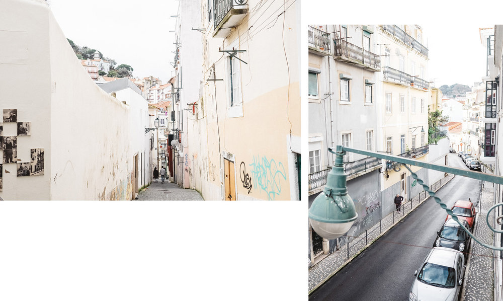 The beautiful streets of Mouraria, Lisbon