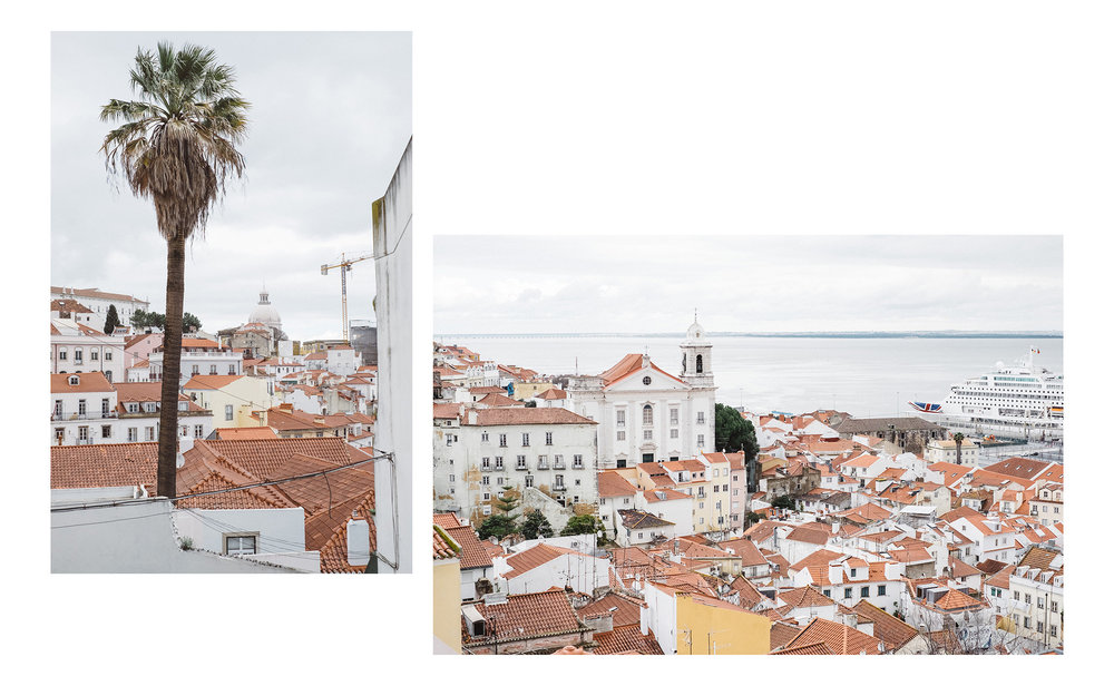 Views from the Alfama district of Lisbon