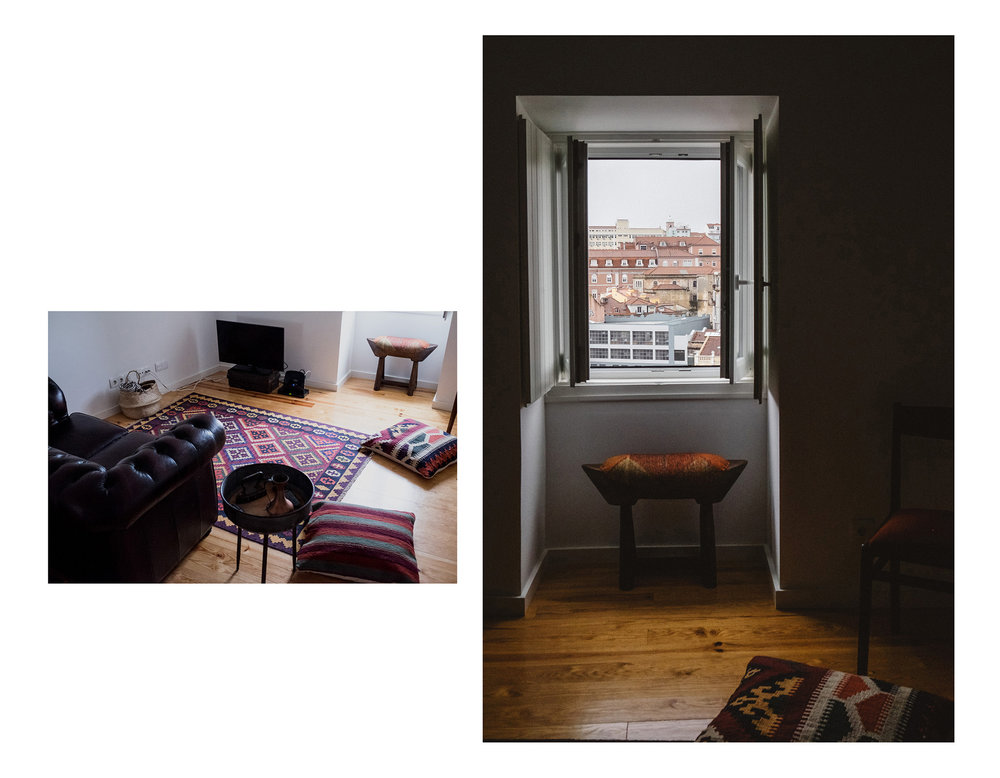 A beautiful AirBNB apartment in the Mouraria district of Lisbon