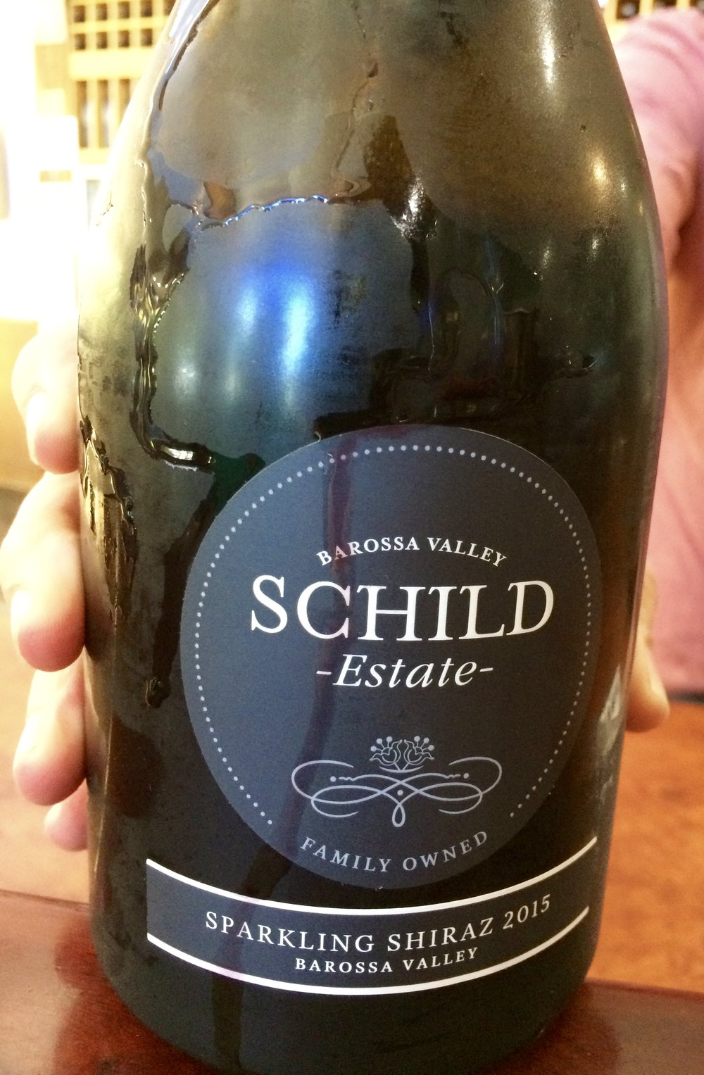 Sparkling Shiraz!! - From Schild Family Estates. An interesting sparkling wine that had quite a complex depth to it. Red fruits, dark cherries, hint of chocolate, cinnamon, cloves, and quite surprisingly balanced with a medium to long finish. I was tempted to bring a bottle of this home but didn't because I was holding out on purchasing a typical yummy Shiraz from Barossa Valley. If you're visiting Barossa Valley and visiting this cellar door, buy a bottle of this interesting sparkling Shiraz. I regret not purchasing a bottle of this.
