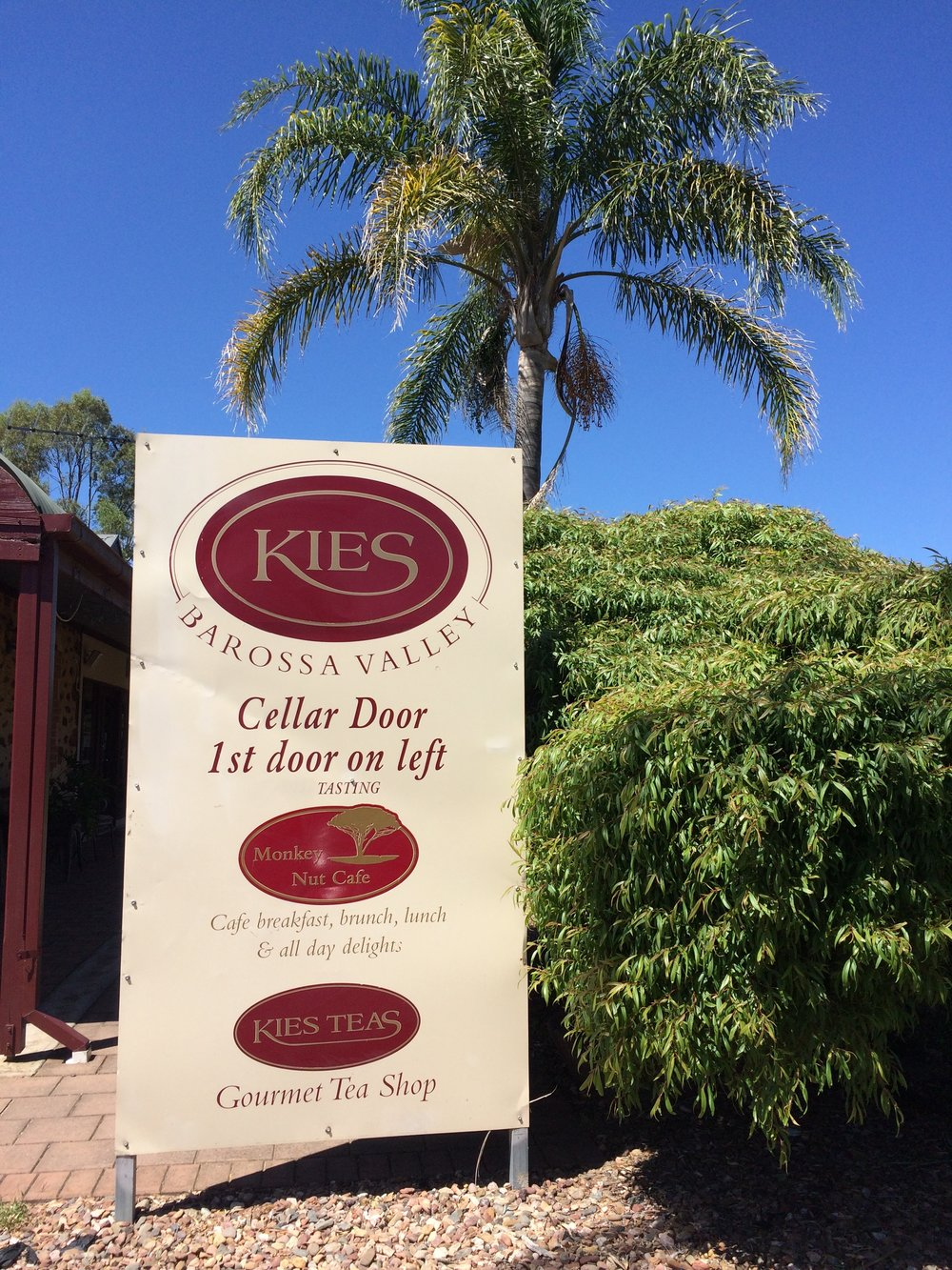 Kies Family Wines - Barossa ValleyThis winery was on a beautiful estate!