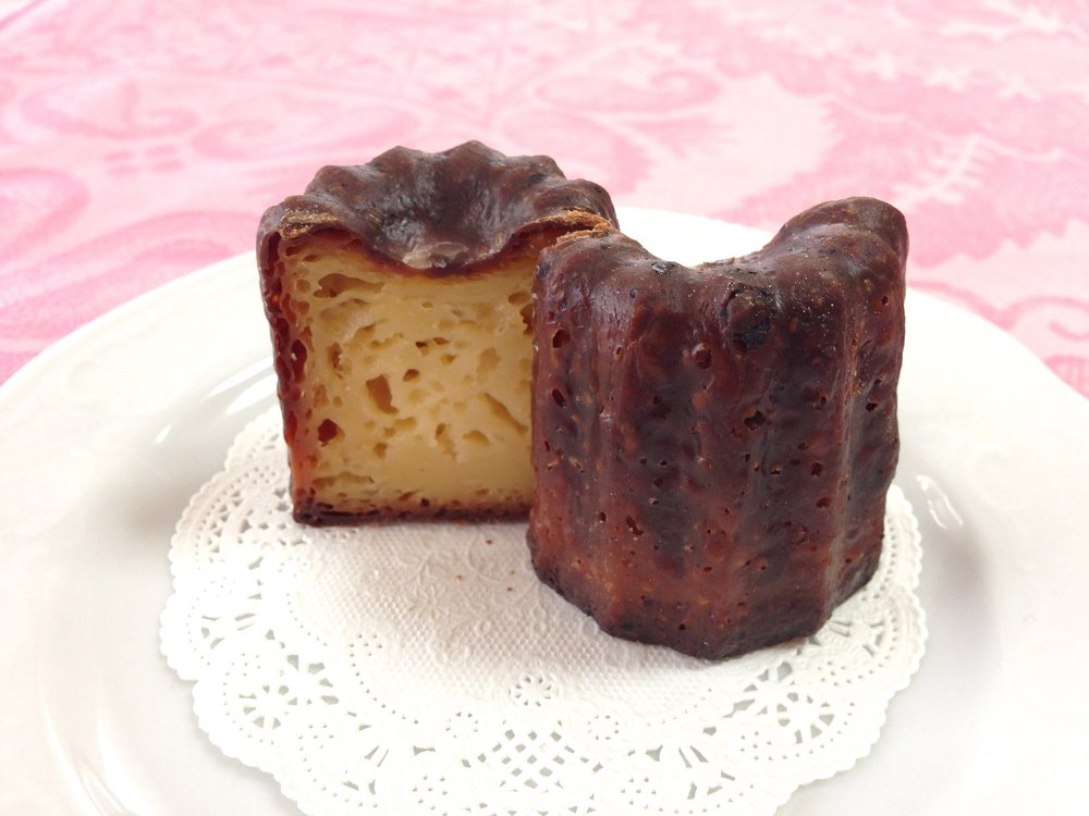 This stock image of Canelé is from  Pixabay under the Creative Commons license