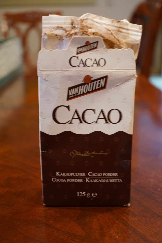 My favorite cocoa powder: - Van Houten CacaoFazer Cacao
