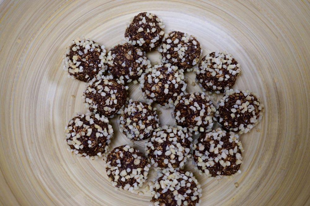 vegan chokladbollar