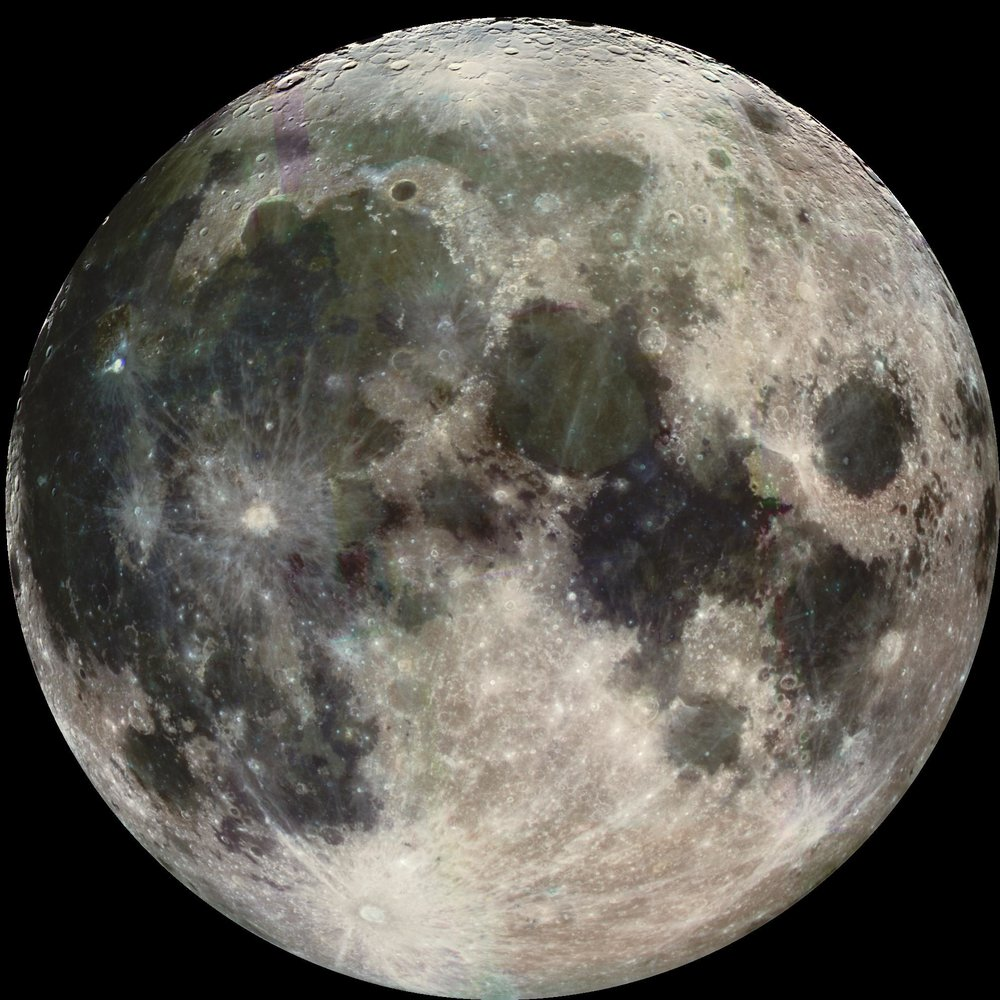 The Moon. Image credit: NASA/JPL/USGS