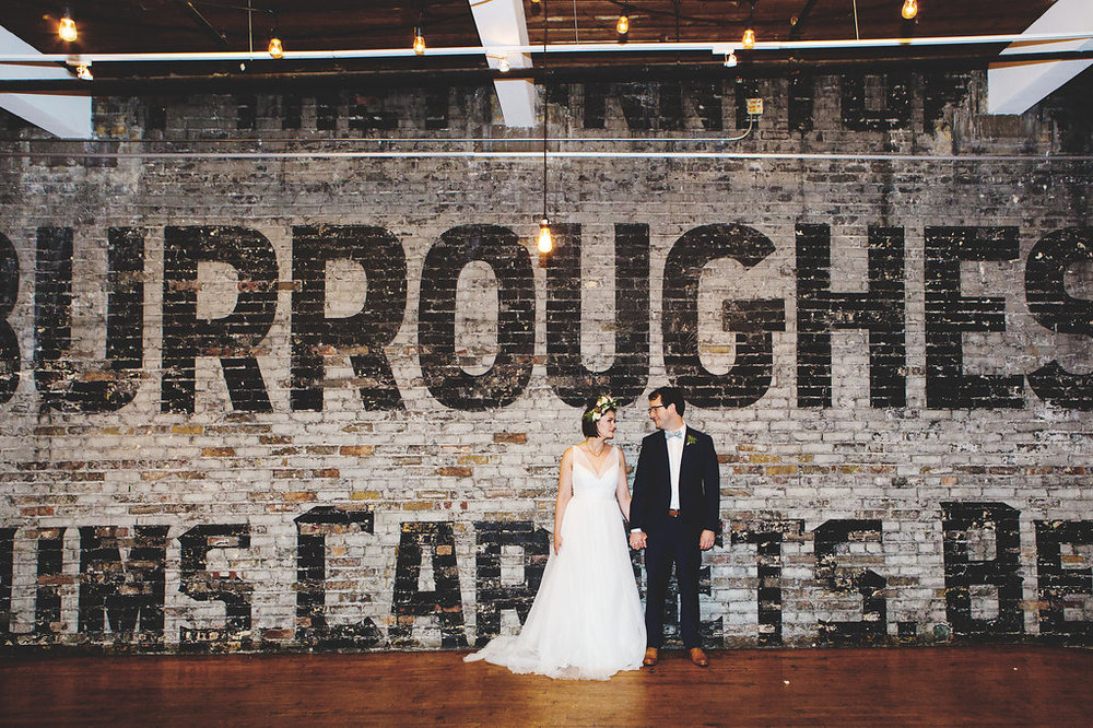 Burroughes Building Wedding