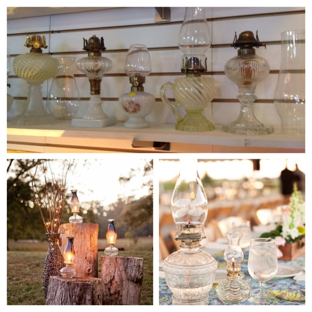 Oil Lamp Antique Wedding Aberfoyle