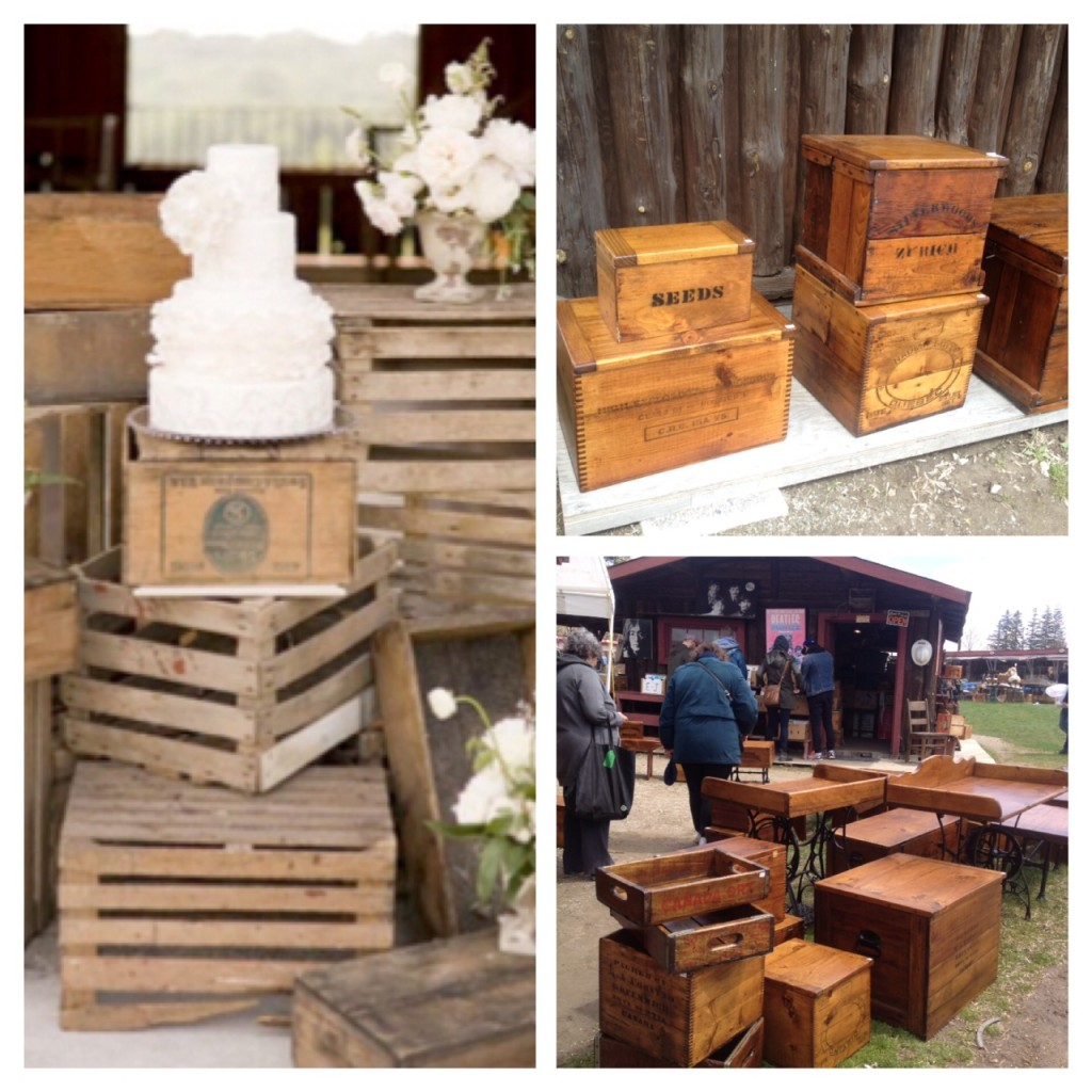 Crates Antique Wedding Aberfoyle
