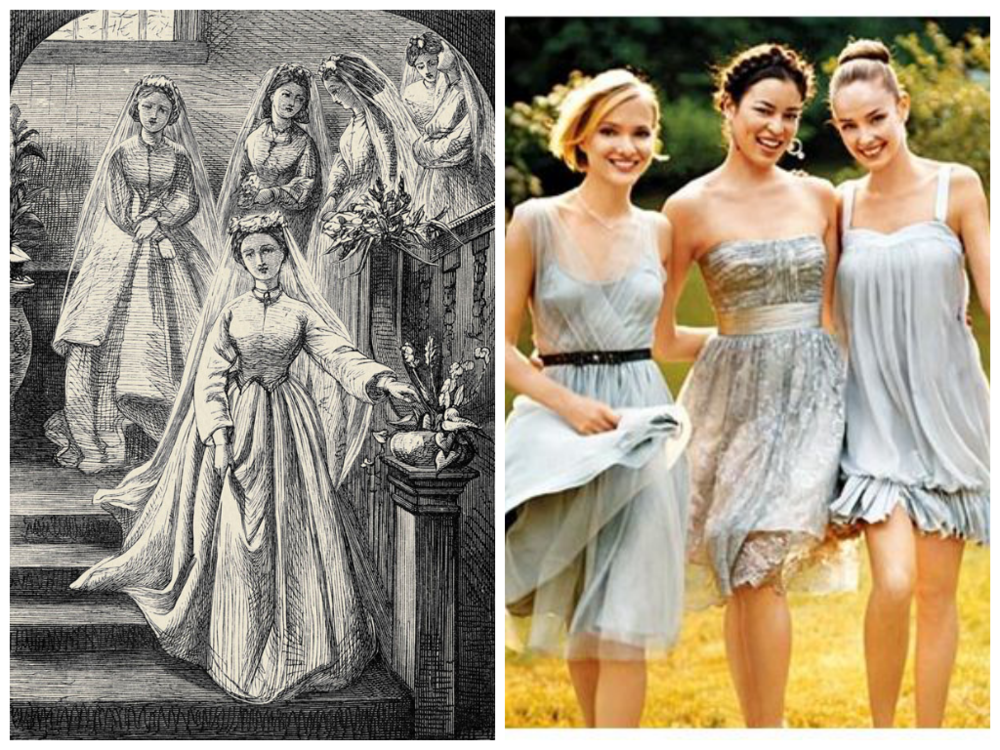from left to right: image via   Brides  , image via   Wedding High