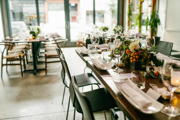 Toronto Restaurant Wedding