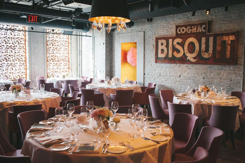 12 Toronto Restaurant Wedding Venues Blush Bowties