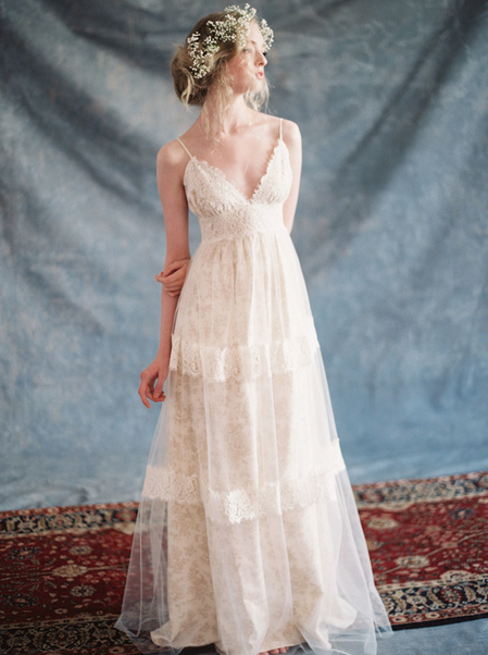 Dress by   Claire Pettibone