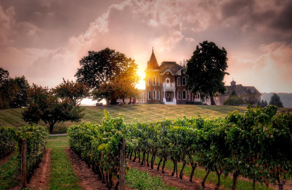 image via   Peninsula Ridge Winery