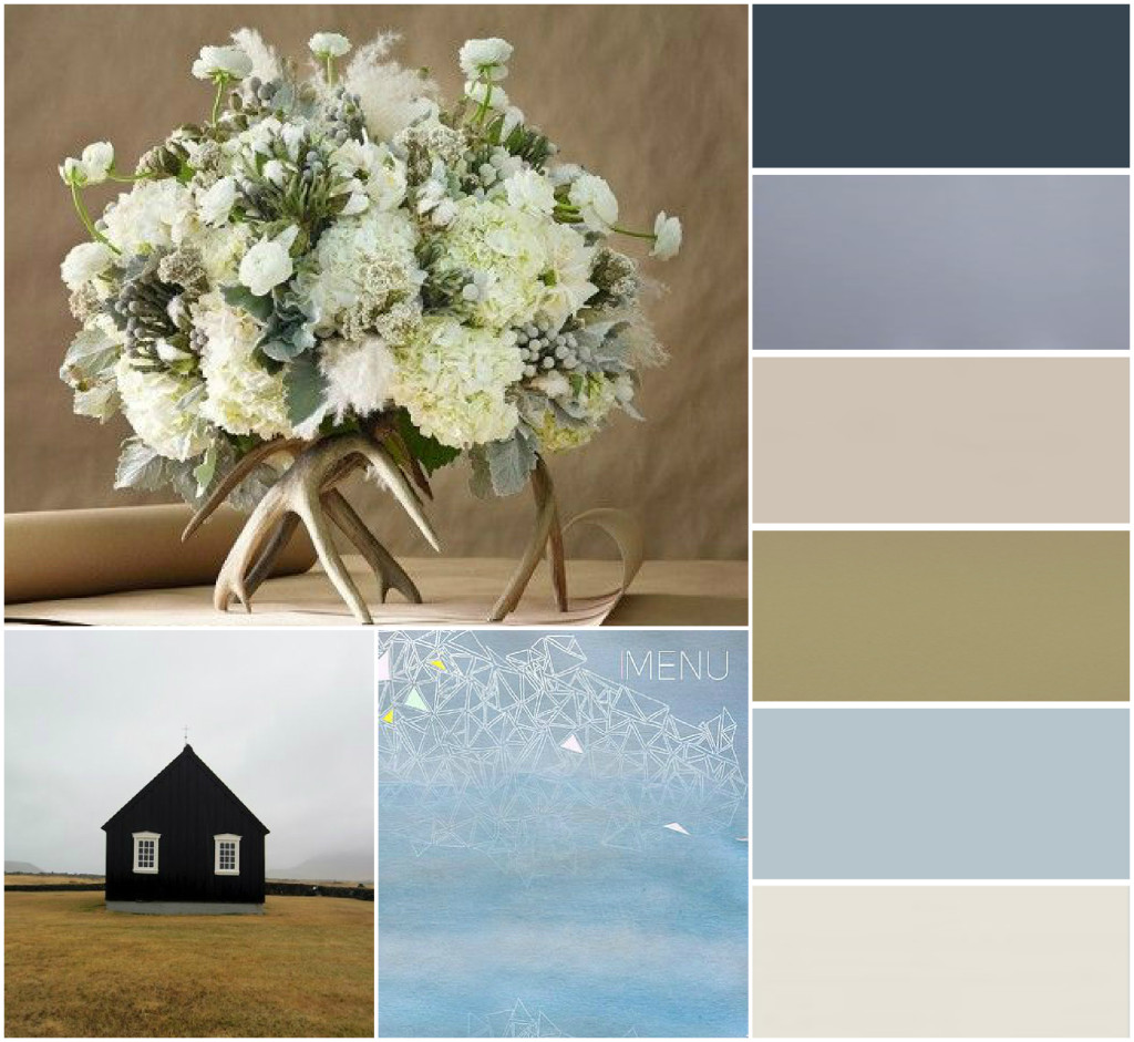 Nordic Wedding Colours